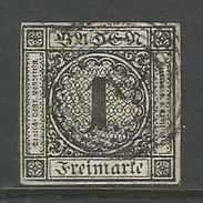 Baden, Wertziffern Im Kreis, Nr. 5 Gestempelt - Baden