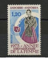 ANDORRE FR -  ANNÉE DE LA FEMME -  N° Yvert  250** - Neufs