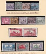Timbres Tunisie  1923 1926 Y & T 96 A 109 - Usati
