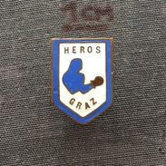 Badge (Pin) ZN005977 - Boxing Austria Boxunion Heros Graz - Boxing