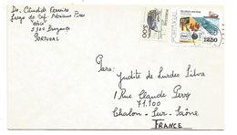 PORTUGAL LETTRE DE BRAGANCE POUR LA FRANCE 1979 - 1910-... République