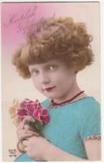 Rotterdam 1927: MEISJE Met BOEKETJE / Fille Avec Bouquet Des Fleurs - (Serie DIX Paris 1978) - Portretten