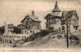 62 LE TOUQUET-PARIS-PLAGE LE VILLAGE SUISSE ET L'ENTREE DE LA FORET - Le Touquet