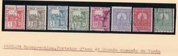 Timbres Tunisie   1926  1928 Y & T 120 A 146 - Usati