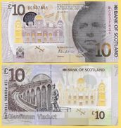 Scotland 10 Pounds P-new 2017 Bank Of Scotland UNC - [ 3] Scotland