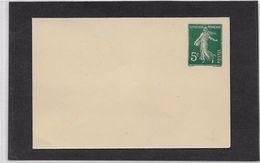 France Entiers Postaux - 5 C Semeuse Camée - Enveloppe - Neuf - TB - Enveloppes Types Et TSC (avant 1995)