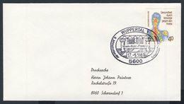 Deutschland Germany 1981 Cover / Brief / Lettre - 9. Jahrestreffen Schachmotivsammler Rhein-Ruhr-Posta / Chess Thematic - Schaken