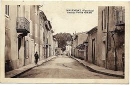 E10 84 MALEMORT Avenue Felix Gras 1936 - Autres Communes