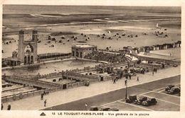 62 LE TOUQUET-PARIS-PLAGE VUE GENERALE DE LA PISCINE - Le Touquet