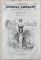 1874 OFFENBACH - AUX BOUFFES PARISIENNES - LE JOURNAL AMUSANT - LA FETE DE NANTERRE Par LAFOSSE - Boeken, Tijdschriften, Stripverhalen