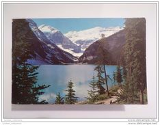 Canada 1970 Years Lake Louise & Victoria Glacier View Postcard - Lac Louise