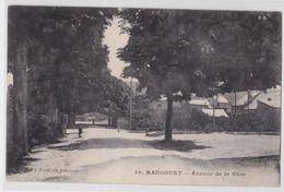 RAUCOURT (Ardennes) - Avenue De La Gare - France