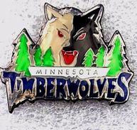 Pins/badges -N B A (National Basketball Association) MINNESOTA TIMBERWOLVES. - Basketball