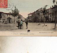 NEULISE 328  LA PLACEVESTE DU CYVLISTE DE COULEUR - Autres Communes