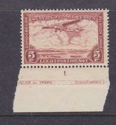Belgisch Congo 1934 Luchtpost 5fr Met Bladboord  ** Mnh (37133A) - Luchtpostzegels: Postfris
