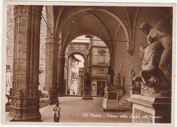 151 - FIRENZE INTERNO DELLA LOGGIA DELL' ORCAGNA ANIMATA 1942 - Firenze