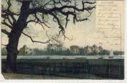HAMBURG HARVESTEHUDE PARTIE AM HARVESTEHUDER WEG 1902 LITHO - Eimsbuettel