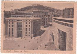 156 - NAPOLI PIAZZA A DIAZ ANIMATA 1942 - Napoli