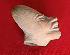 Prä-historischer Maya-Kopf Aus Mexiko - Arqueología