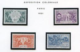 Haute Volta * N° 66 à 69 -  Exposition Coloniale De Paris 1931 - Ungebraucht