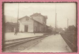68 - GEBWEILER - GUEBWILLER - Gare HEISSENSTEIN - Photo 9,8 X 14,8 - Pas Carte Postale - 3 Scans - Guebwiller