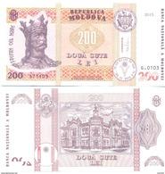 2017. Moldova, 200Leu/2015, UNC - Moldavie