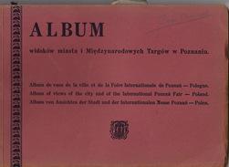 Pologne Poland Polska Foire Internationale De Poznan Album De Vues - Dépliants Turistici