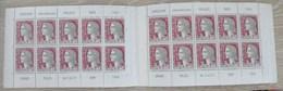 CARNET MARIANNE DECARIS PUBLICITE PHILATEC-PARIS 1964 S.7-64 Et PUB Intérieure SHELL - Carnets
