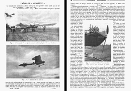 "L'AEROPLANE  "" ANTOINETTE V  ""  1909 - Transportation"