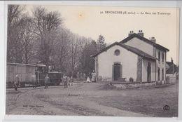 SENONCHES - La Gare Des Tramways - Train - Autres Communes
