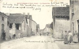 MONTIER EN L'ISLE. LA GRANDE RUE - France