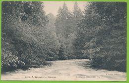 A Travers Le Morvan - La Cure à CHASTELLUX Carte Circulé 1917 - Otros Municipios