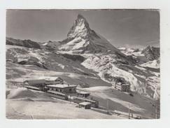 ZERMATT / STATION RIFFELBERG M. MATTERHORN - VS Valais