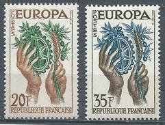 France YT N°1122/1123 Europa 1957 Neuf ** - France