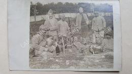 CPA - CARTE PHOTO- SOLDATS 1918 - Secteur 60 - 212 D.C.A 1re Section - Guerre 1914-18