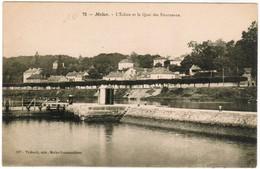 CPA Melun, L'Ecluse Et Le Quai Des Fourneaux (pk35829) - Melun