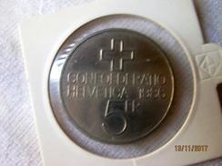 Suisse: 5 Francs 1986 - Pièce Commémorative Bataille De Sempach - Switzerland