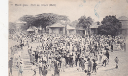 CPA Animée HAÏTI Port Au Prince Mardi Gras Fête Traditions - Cartes Postales