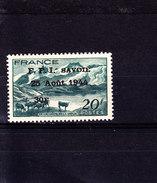 Savoie N° 14 - Libération