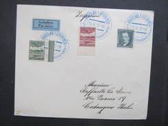 BRIEF Bratislava 2 Letecka Posta Klagenfurt - Venezia 1937 //  D*28275 - Czechoslovakia