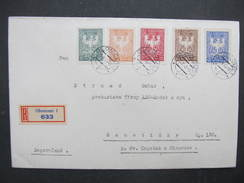 BRIEF Olomouc Privatbriefmarken Revolution 1945 !!! //  D*28276 - Lettres & Documents