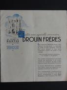 DROUIN FRERES NANTES EXCURSIONS 1950 - 1950 - ...
