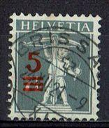 Schweiz 1921 // Mi. 158 O (011..373) - Gebruikt