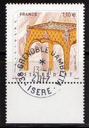 France 2017.Métiers D'Art.Ebéniste.Cachet Rond Gomme D'Origine. - France