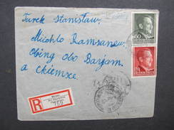 R-BRIEF Generalgouvernement Mirzec - Obing 1943//  D*28287 - Besetzungen 1938-45