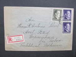 R-BRIEF Generalgouvernement Tarnow - Woparschan 1942 //  D*28288 - Besetzungen 1938-45