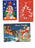 ITALIA    -  BUON  NATALE  (MERRY CHRISTMAS),     LOT OF 3 - MINT - Christmas