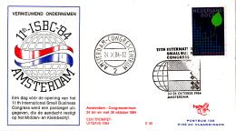 Nederland - Trompet S59 - 11th International Small Businness Congres - Amsterdam 24 T/m 26 Oktober 1984 - NVPH 13015 - Postal History