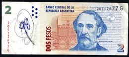"2 Pesos Convertibles "" ARGENTINE""  ND   TTB  VF Ble 4 - Argentine"