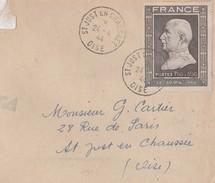 Lettre Simple Obl  Type 1904 1er Jour - 1941-42 Pétain